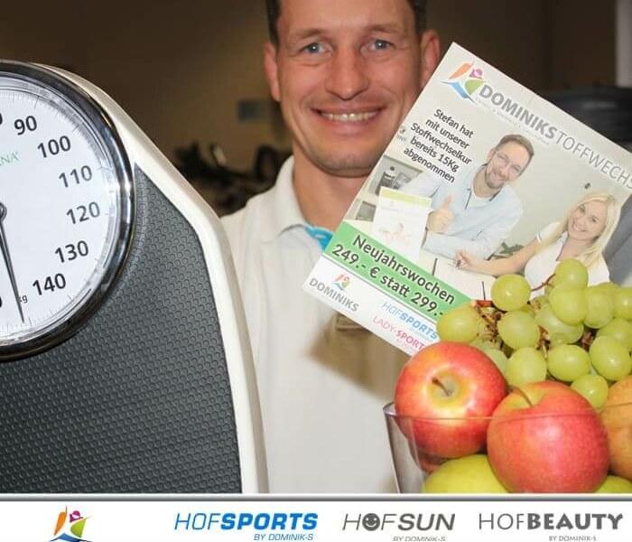 Endlich das Wunschgewicht erreichen mit der Dominikstoffwechselkur – Neujahrsangebot – HofSports