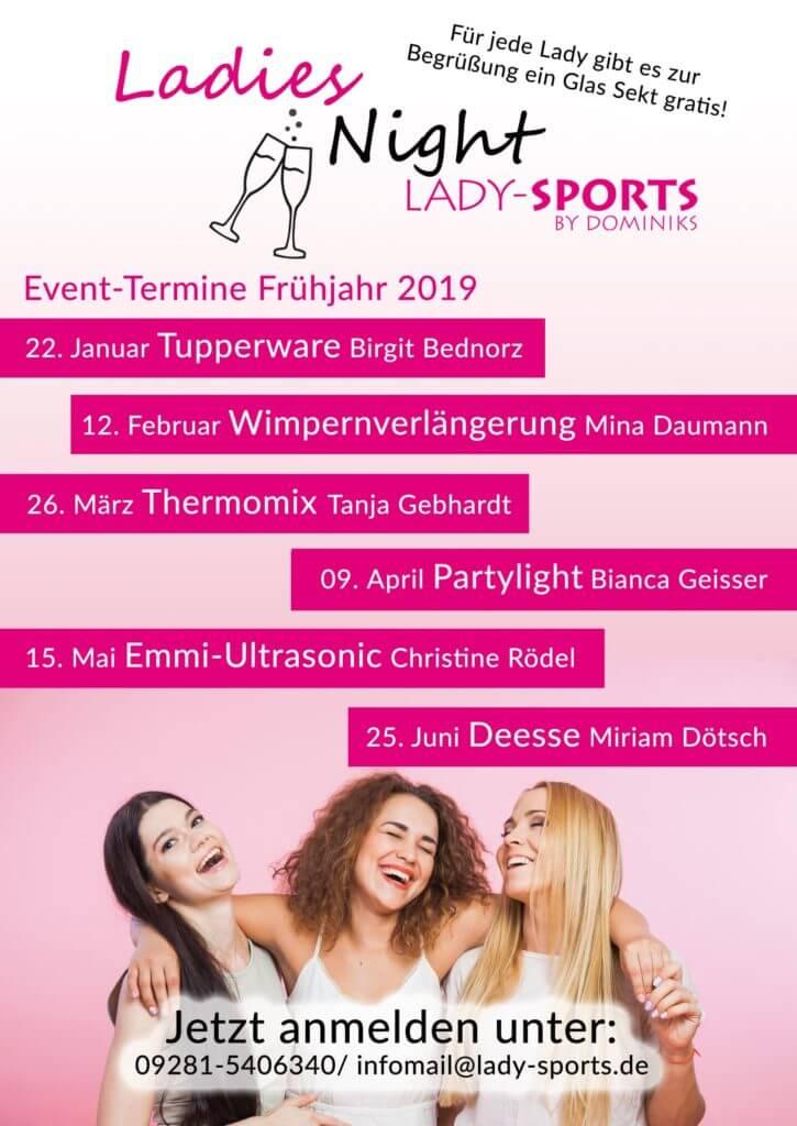Ladies Night im Lady-Sports