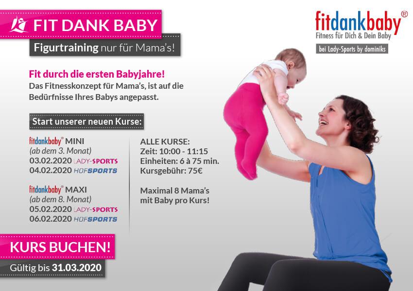 Fitnessstudios - FitDankBaby
