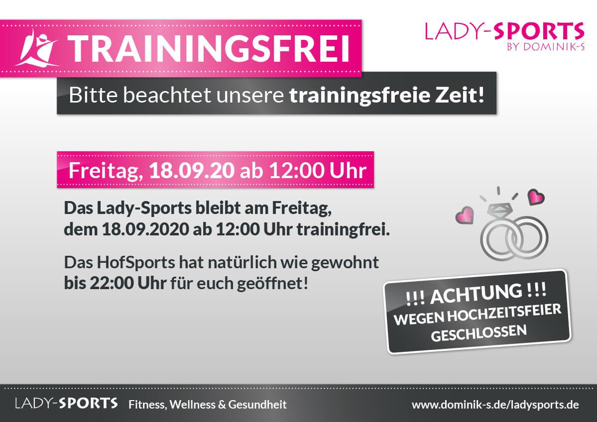 LadySports-wegen-Hochzeit-geschlossen