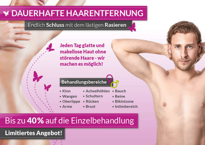 Kosmetikstudio-Hof-HofBeauty-Aktion-dauerhafte-laser-Haarentfernung-limitiertes-Angebot