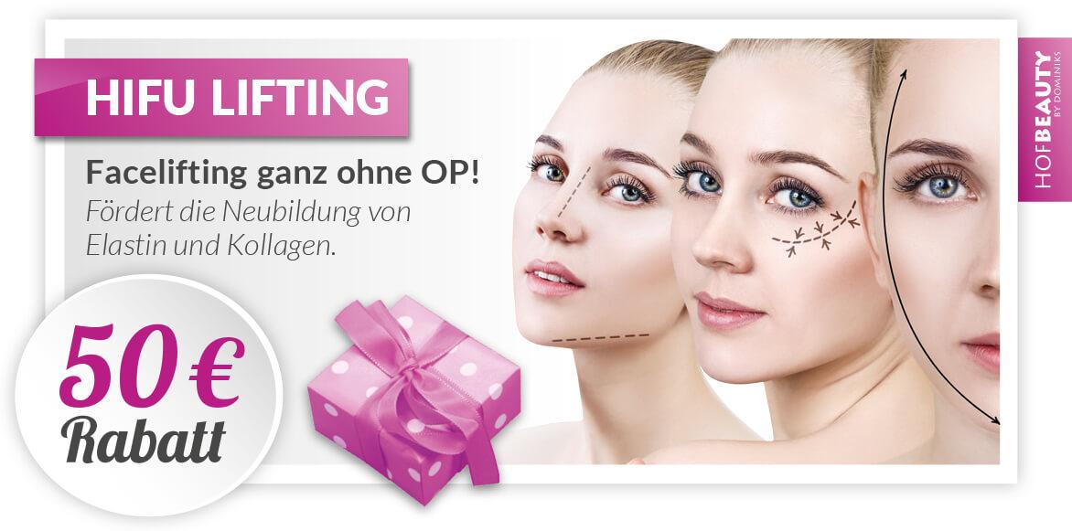 Kosmetikstudio-HofBeauty-gutschein-Hifu-Lifting-50euro-Rabatt