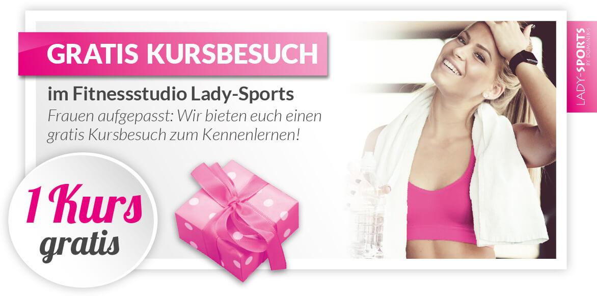 Fitnessstudio-Lady-Sports-Gutschein-gratis-Kursbesuch