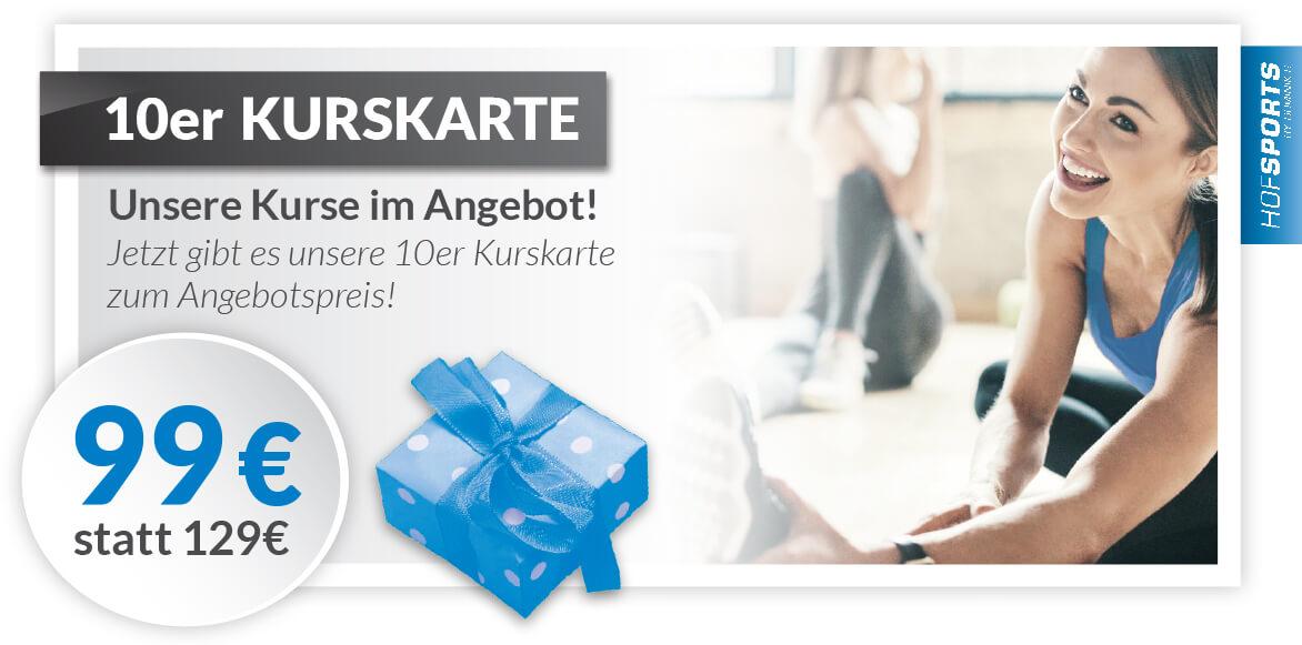 Fitnessstudio-HofSports-Rabatt-Gutschein-10erKarte Kurse