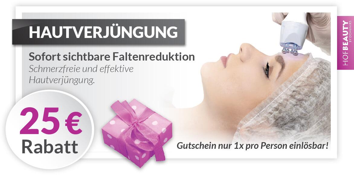 Hautverjüngung 25€ Rabatt