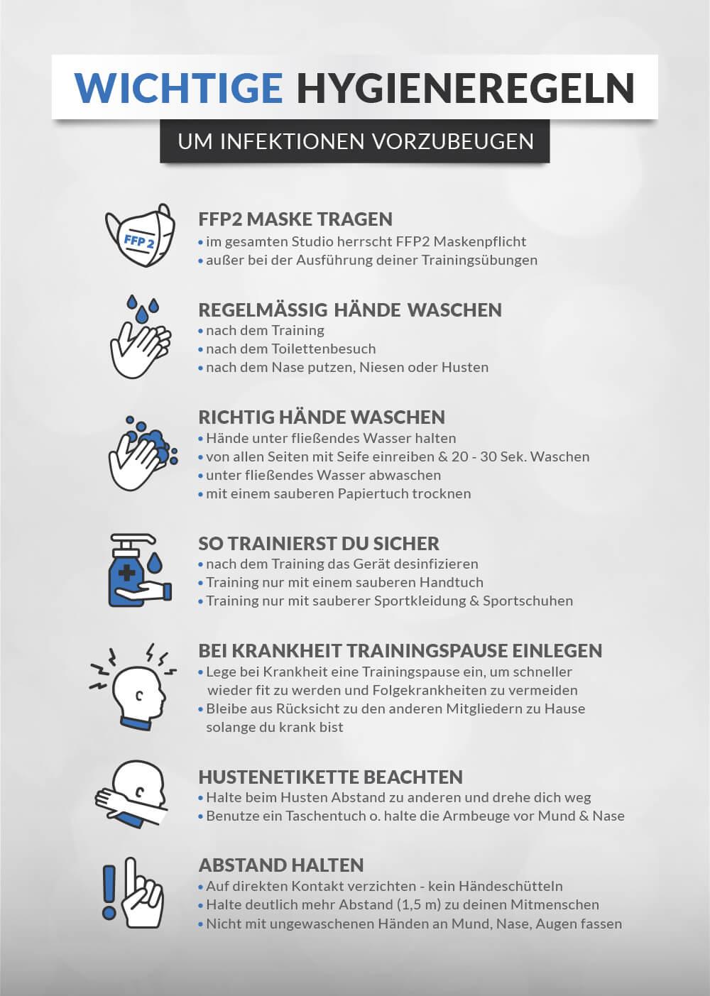 Hygieneregeln-DOMINIKS