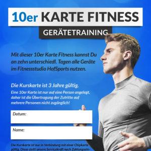 HofSports-10er-Kurskarte-Fitness-GeräteTraining