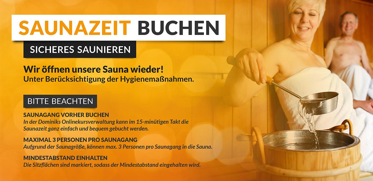 HofSports - Sauna wieder offen